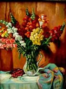 Picturi cu flori Gura leului1