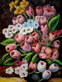 Picturi cu flori Lalele19