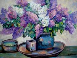 Picturi cu flori Lliliac19