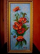 Picturi cu flori Tablou maci imperiali1