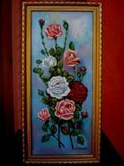 Picturi cu flori Tablou trandafiri imperiali1