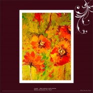 Picturi cu flori Veselie
