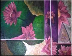 Picturi cu flori Amintiri placute