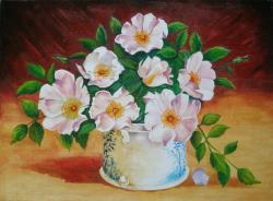 Picturi cu flori Floarea macesului