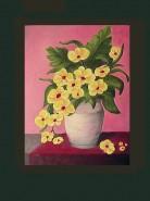 Picturi cu flori Flori galbene