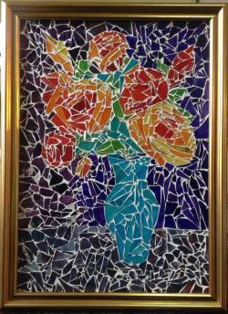 Picturi cu flori Beautiful roses