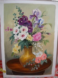 Picturi cu flori  buchet 11