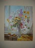 Picturi cu flori Buchetel de toamna