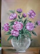 Picturi cu flori Bujori 11
