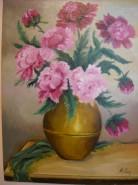 Picturi cu flori Bujori 5