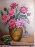 Picturi cu flori Bujori 7