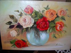 Picturi cu flori Cadoul meu