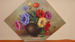 Picturi cu flori Culorile verii adunate.
