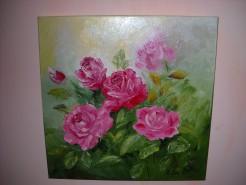 Picturi cu flori Dimineata