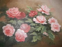 Picturi cu flori dimineata cu flori