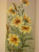 Picturi cu flori Din culoarea soarelui