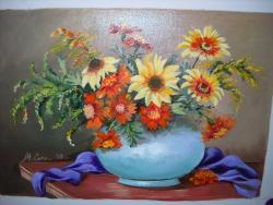 Picturi cu flori Din gradina 2017