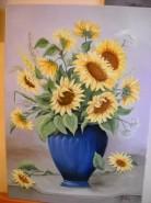 Picturi cu flori Floarea soarelui 10