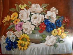 Picturi cu flori flori adunate