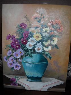 Picturi cu flori Flori cu amintiri