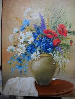 Picturi cu flori FLORI DE CAMP 10