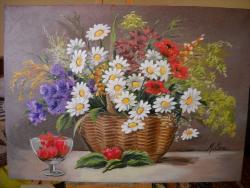 Picturi cu flori Flori de camp C3