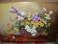 Picturi cu flori Flori de camp z15