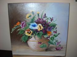 Picturi cu flori flori de primavara 15