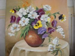 Picturi cu flori flori de primavara 3