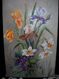 Picturi cu flori Flori de primavara P20