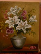 Picturi cu flori Flori delicate