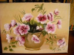 Picturi cu flori flori delicate 5