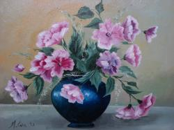 Picturi cu flori flori delicate 6