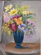 Picturi cu flori Floricele de primavara