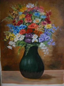 Picturi cu flori floricele din gradina
