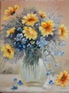 Picturi cu flori Floricele gingase