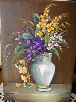Picturi cu flori Floricele preferate