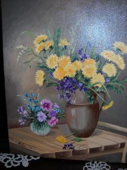 Picturi cu flori florile primaverii 12