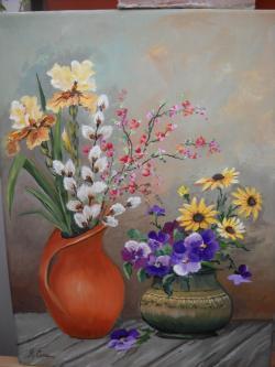 Picturi cu flori Florile primaverii 30
