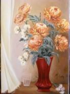 Picturi cu flori Florile toamnei.