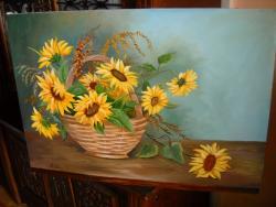 Picturi cu flori frumoasele soarelui