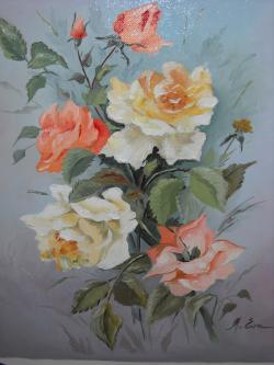 Picturi cu flori Indragitele flori
