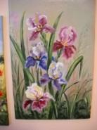 Picturi cu flori Irisi 5