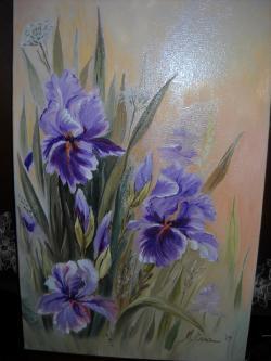 Picturi cu flori Irisi R 25