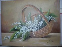 Picturi cu flori Lacramioare