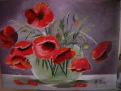 Picturi cu flori Maci 10