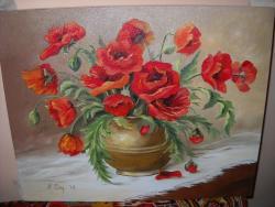 Picturi cu flori MACI  11