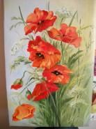 Picturi cu flori Maci 5