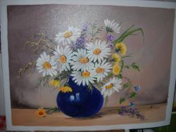 Picturi cu flori margarete  15