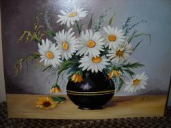Picturi cu flori Margarete M5